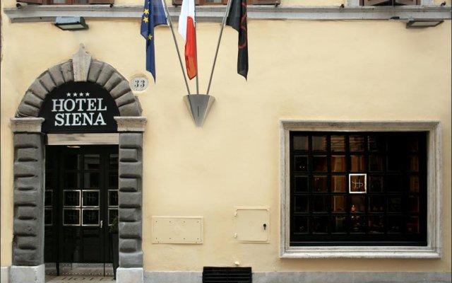 Hotel Siena вид на фасад