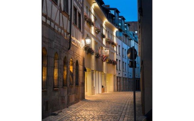 Hotel Agneshof Nürnberg вид на фасад