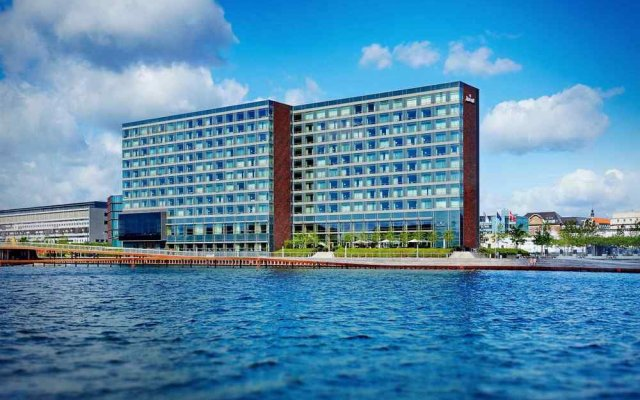 Отель Copenhagen Marriott Hotel Дания, Копенгаген - отзывы, цены и фото номеров - забронировать отель Copenhagen Marriott Hotel онлайн вид на фасад
