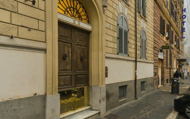 Отель Claudia Suites вид на фасад
