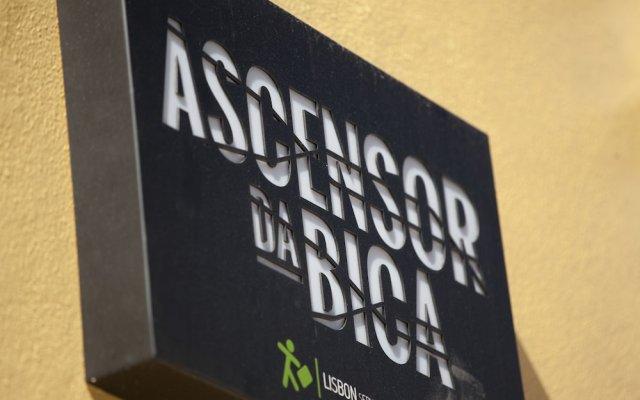 Отель Ascensor da Bica - Lisbon Serviced Apartments Португалия, Лиссабон - отзывы, цены и фото номеров - забронировать отель Ascensor da Bica - Lisbon Serviced Apartments онлайн вид на фасад