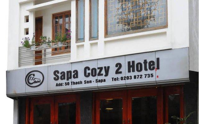 Отель Sapa Cozy 2 Hotel Вьетнам, Шапа - отзывы, цены и фото номеров - забронировать отель Sapa Cozy 2 Hotel онлайн вид на фасад