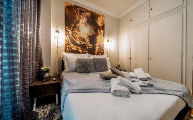 Отель Corona Deluxe Apt (Must) Греция, Салоники - отзывы, цены и фото номеров - забронировать отель Corona Deluxe Apt (Must) онлайн комната для гостей