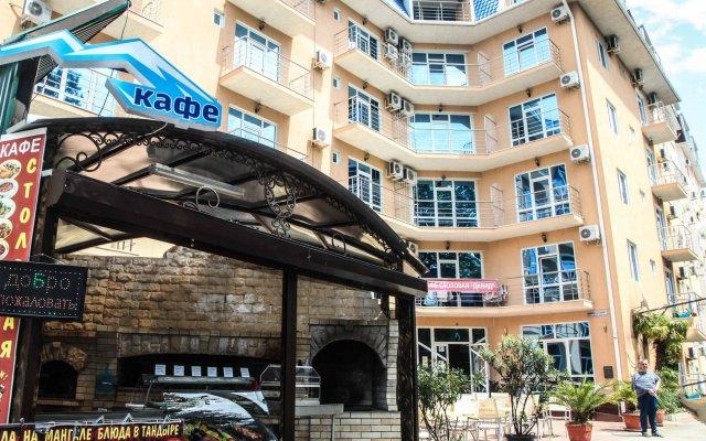 Гостиница Давид в Сочи 4 отзыва об отеле, цены и фото номеров - забронировать гостиницу Давид онлайн вид на фасад