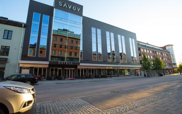 Отель Best Western Hotell Savoy вид на фасад