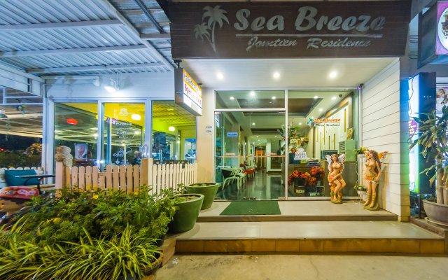 Отель Sea Breeze Jomtien Residence Таиланд, Паттайя - отзывы, цены и фото номеров - забронировать отель Sea Breeze Jomtien Residence онлайн вид на фасад