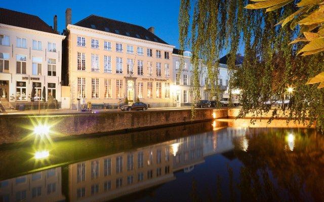 Отель De Tuilerieën - Small Luxury Hotels of the World Бельгия, Брюгге - отзывы, цены и фото номеров - забронировать отель De Tuilerieën - Small Luxury Hotels of the World онлайн вид на фасад