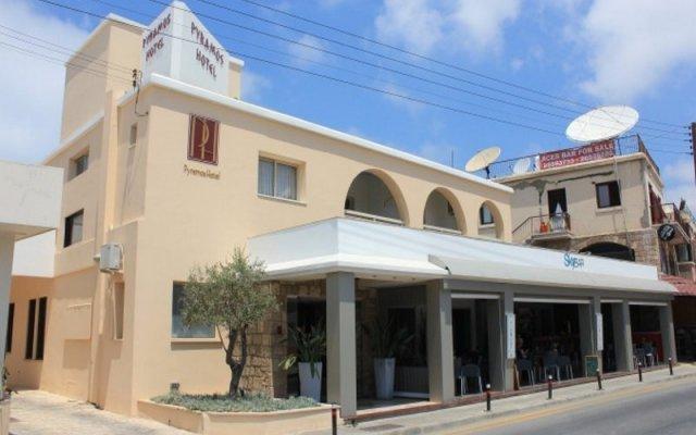 Отель Pyramos вид на фасад