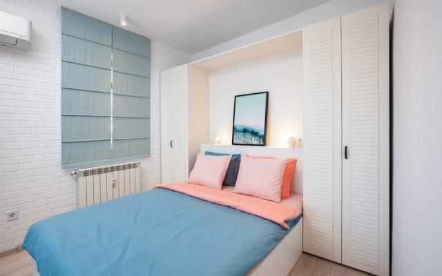 Отель FM Deluxe 1-BDR Apartment - Scandinavia Болгария, София - отзывы, цены и фото номеров - забронировать отель FM Deluxe 1-BDR Apartment - Scandinavia онлайн комната для гостей