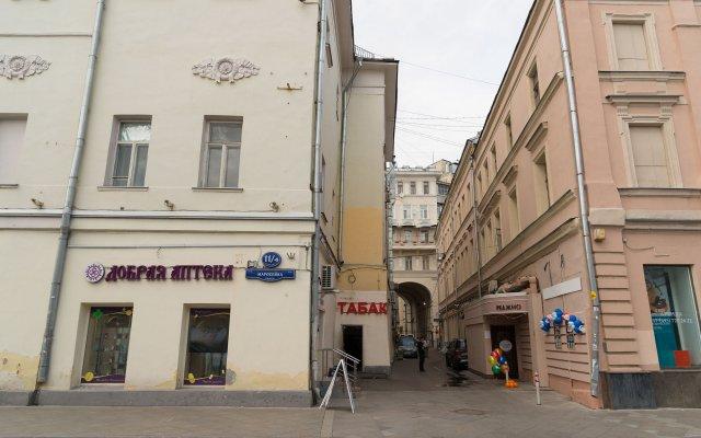 Гостиница Мини-Отель Идеал в Москве - забронировать гостиницу Мини-Отель Идеал, цены и фото номеров Москва вид на фасад