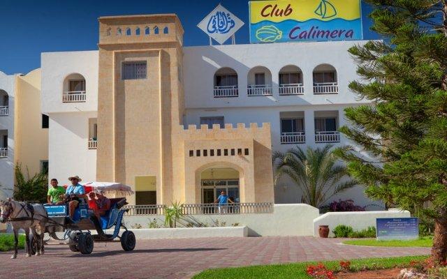 Отель Club Calimera Yati Beach вид на фасад