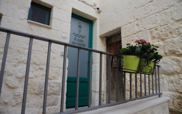 Отель Il Nido dei Falchi B&B Альтамура вид на фасад