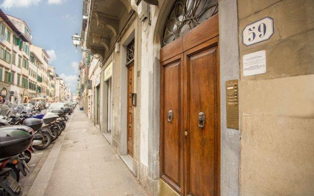 Отель Ognissanti вид на фасад