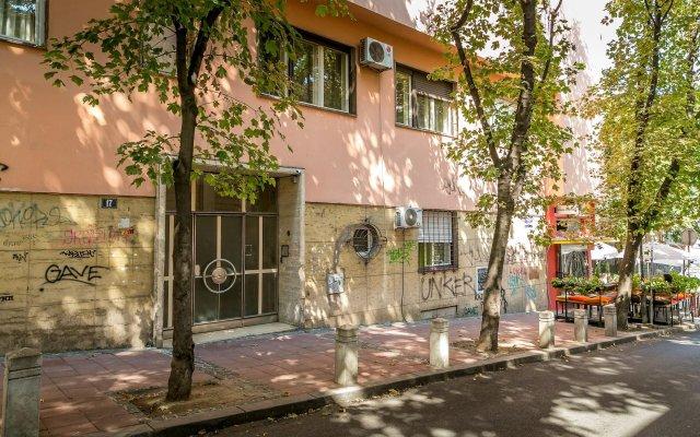 Отель Dositej Apartment Сербия, Белград - отзывы, цены и фото номеров - забронировать отель Dositej Apartment онлайн вид на фасад