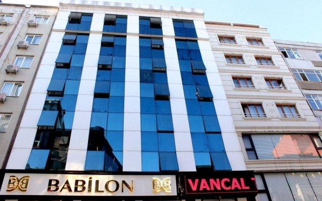 Hotel Buyuk Paris вид на фасад