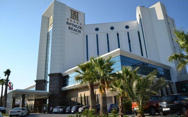 Boyalik Beach Hotel & Spa Чешме вид на фасад