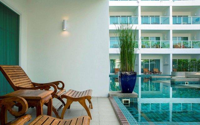 Отель Chanalai Romantica Resort Kata Beach - Adult Only вид на фасад