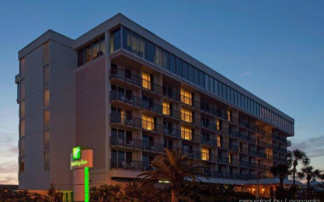 Отель Holiday Inn Lido Beach, Sarasota вид на фасад