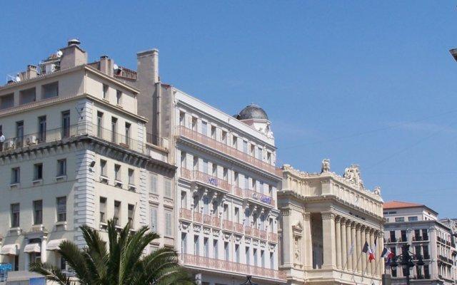 Отель Escale Oceania Marseille Марсель вид на фасад