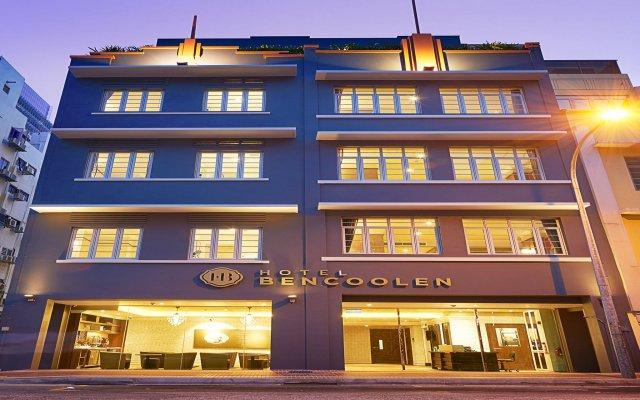 Hotel Bencoolen@Hong Kong Street вид на фасад
