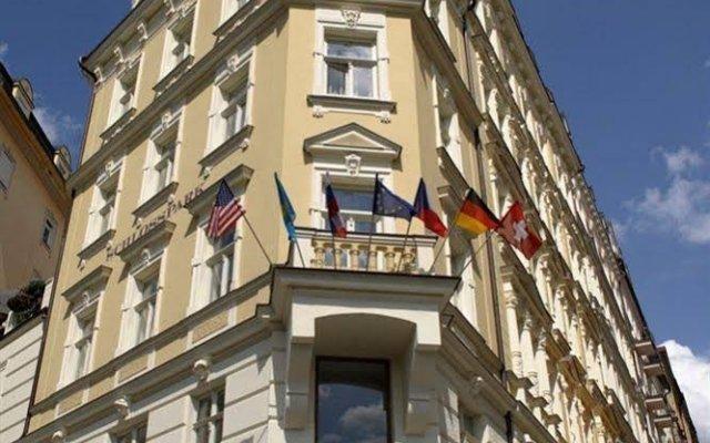 Spa Hotel Schlosspark вид на фасад