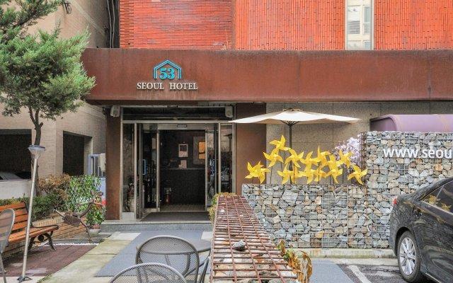 Отель Seoul 53 hotel Insadong Южная Корея, Сеул - 1 отзыв об отеле, цены и фото номеров - забронировать отель Seoul 53 hotel Insadong онлайн вид на фасад