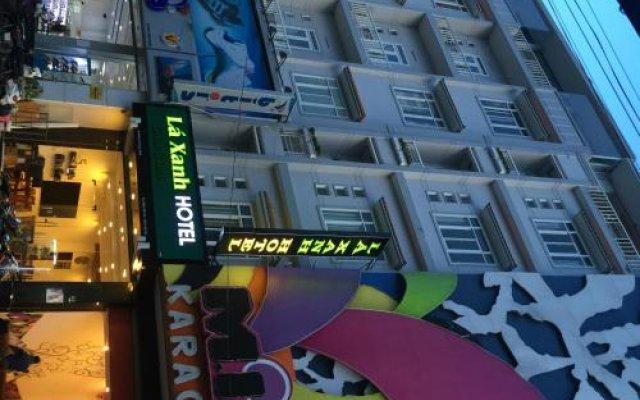 Отель Green Leaves Далат вид на фасад