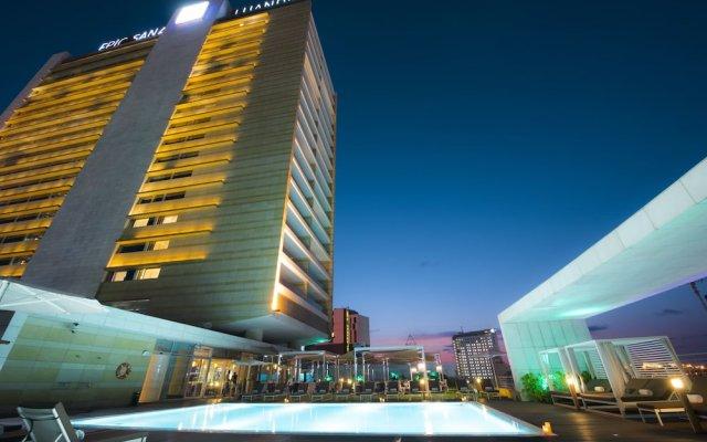 Отель EPIC SANA Luanda Hotel Ангола, Луанда - отзывы, цены и фото номеров - забронировать отель EPIC SANA Luanda Hotel онлайн вид на фасад