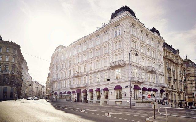 Sans Souci Hotel Вена вид на фасад