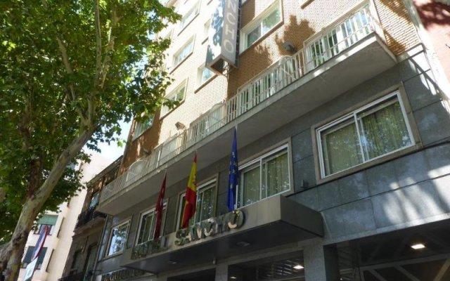 Отель Sancho Испания, Мадрид - отзывы, цены и фото номеров - забронировать отель Sancho онлайн вид на фасад