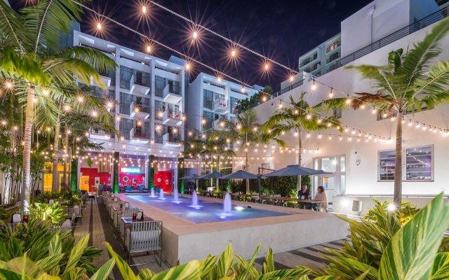 Отель The Fairwind Hotel США, Майами-Бич - отзывы, цены и фото номеров - забронировать отель The Fairwind Hotel онлайн вид на фасад