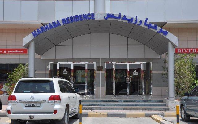 Отель Marhaba Residence ОАЭ, Аджман - отзывы, цены и фото номеров - забронировать отель Marhaba Residence онлайн вид на фасад