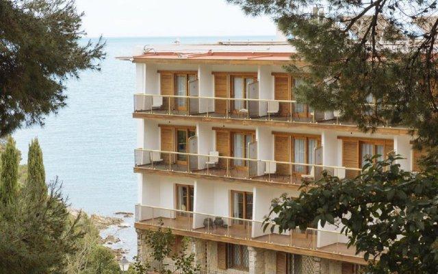 Отель Santa Marta Испания, Льорет-де-Мар - 2 отзыва об отеле, цены и фото номеров - забронировать отель Santa Marta онлайн вид на фасад