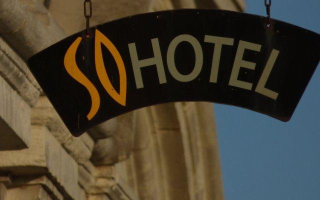 Отель SoHotel Франция, Сомюр - отзывы, цены и фото номеров - забронировать отель SoHotel онлайн вид на фасад