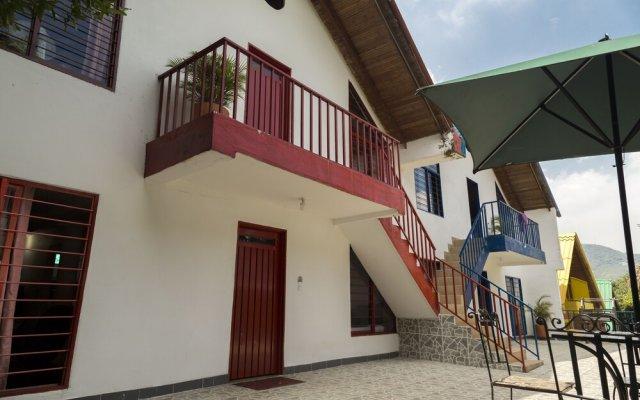 Отель Ecovilla Cali вид на фасад