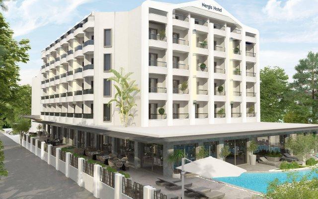Orka Nergis Beach Hotel Турция, Мармарис - отзывы, цены и фото номеров - забронировать отель Orka Nergis Beach Hotel онлайн вид на фасад