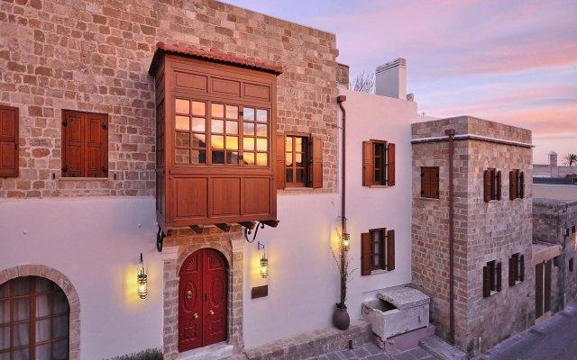 Отель Kokkini Porta Rossa Родос вид на фасад