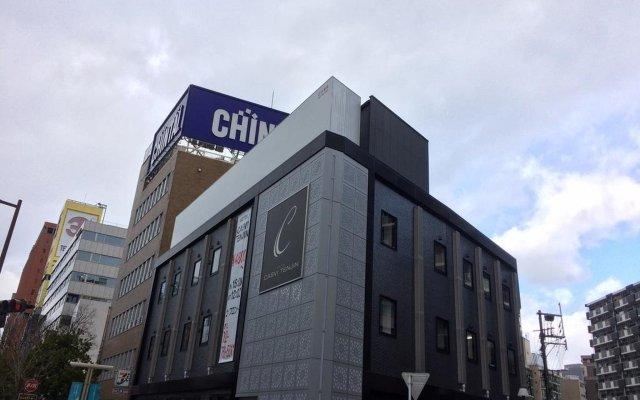 Отель Casvi Tenjin Япония, Фукуока - отзывы, цены и фото номеров - забронировать отель Casvi Tenjin онлайн вид на фасад