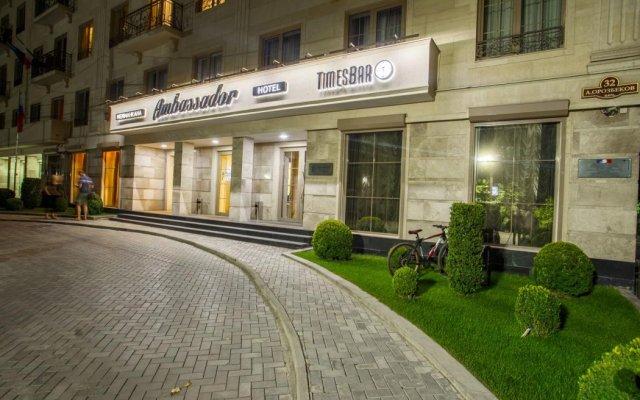 Отель Амбассадор вид на фасад