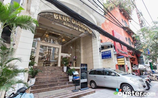 Blue Diamond Signature Hotel вид на фасад