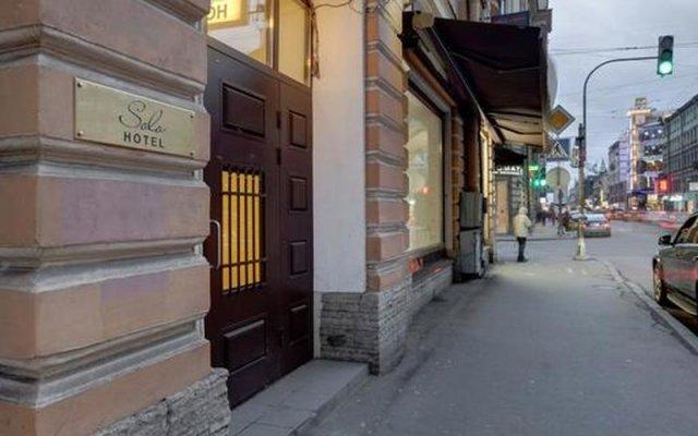 Мини-отель Соло на Большом Проспекте вид на фасад