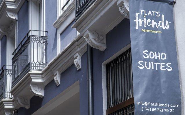 Отель Flats Friends Soho Suites вид на фасад