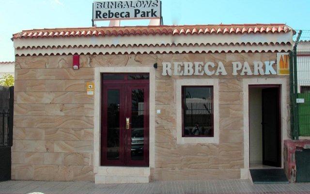 Отель Rebecca Park вид на фасад