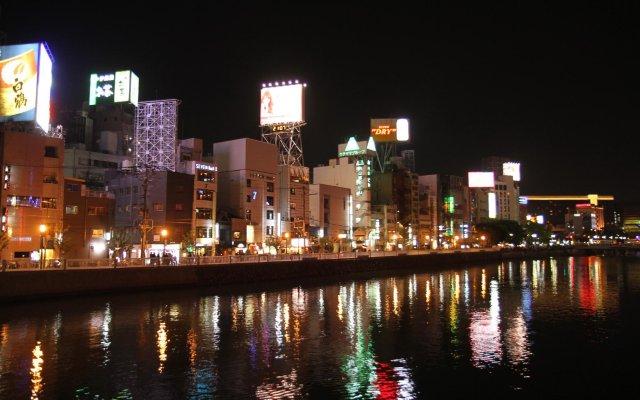 Отель Hakata Nakasu Inn Япония, Фукуока - отзывы, цены и фото номеров - забронировать отель Hakata Nakasu Inn онлайн вид на фасад