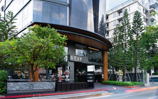 Отель Stay Hotel BKK Таиланд, Бангкок - отзывы, цены и фото номеров - забронировать отель Stay Hotel BKK онлайн вид на фасад