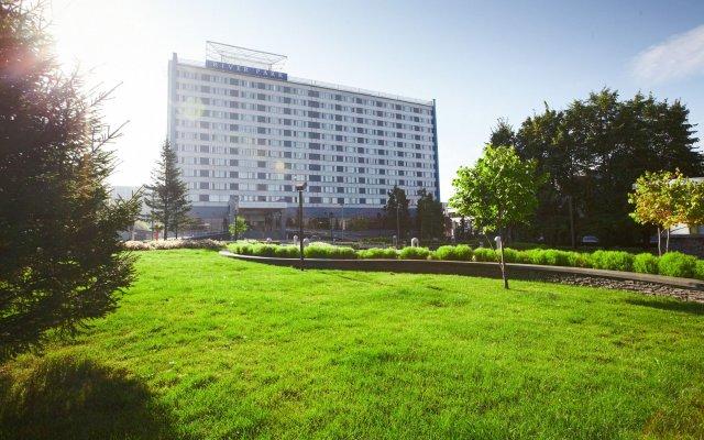 Гостиница River Park Hotel в Новосибирске - забронировать гостиницу River Park Hotel, цены и фото номеров Новосибирск вид на фасад