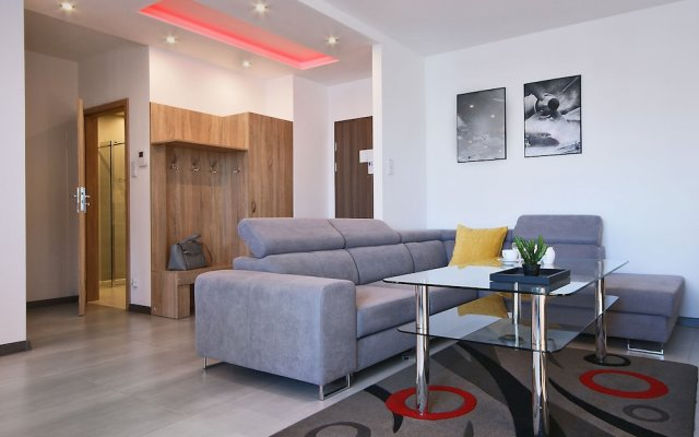 Апартаменты IRS ROYAL APARTMENTS - IRS Aviator комната для гостей