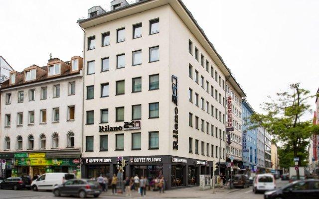 Отель Rilano 24/7 Hotel München City Германия, Мюнхен - отзывы, цены и фото номеров - забронировать отель Rilano 24/7 Hotel München City онлайн вид на фасад