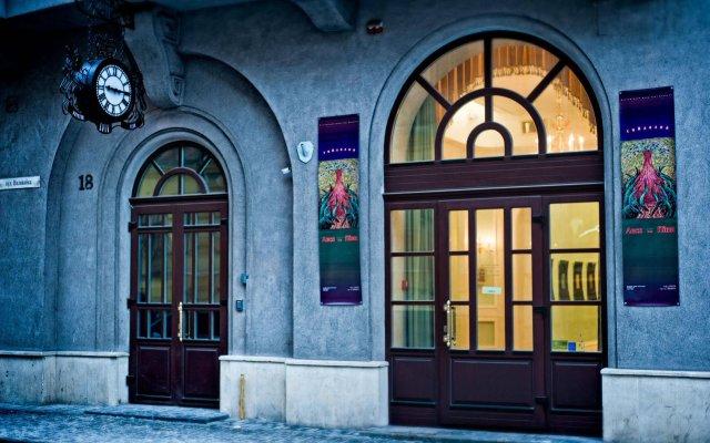 Отель British Club Львов вид на фасад