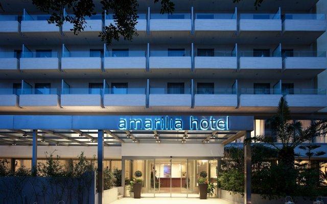 Отель Amarilia Hotel Греция, Афины - 1 отзыв об отеле, цены и фото номеров - забронировать отель Amarilia Hotel онлайн вид на фасад